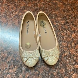 Nina ballet shoes size 1